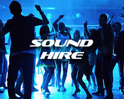 Sound Hire including PA System rental
