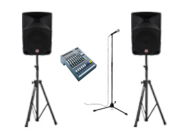 Rent standard PA system